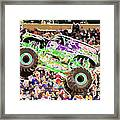 Monster Jam Orlando Fl Framed Print