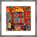 Montreal Early Autumn Framed Print by Carole Spandau