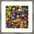 More Beautiful Marbles Framed Print