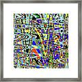 More Colors Abstract Framed Print