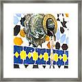 Moroccan Tap Framed Print by Tom Gowanlock