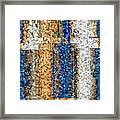 Mosaic Magic Framed Print