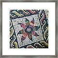 Mosaico Pavimentale Framed Print