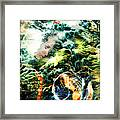 Mother Earth Sister Moon Framed Print