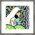 Mother Teressa Framed Print