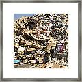 Mound Of Recyclables Framed Print