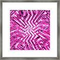 Moveonart Pink Shock Framed Print