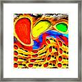 Moving Colors Framed Print