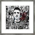 Mugshot 3 Framed Print