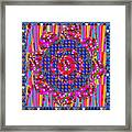 Multi Layered Colorful Flowers Christmas Wreath Style By Navinjoshi At Fineartamerica  Framed Print