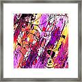 Muse Fragments Framed Print