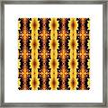 Nailed It Pattern Framed Print