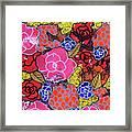 Nala's Flowers Framed Print