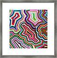 Nanas Quilt Framed Print