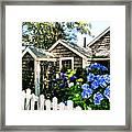 Nantucket Cottage No.1 Framed Print