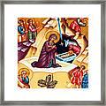 Nativity At Shepherd Field Framed Print