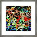 Neuron2 Framed Print by Mordecai Colodner