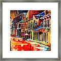 New Orleans Jive Framed Print
