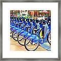 New York Citybike 1 Framed Print