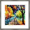 Night Alley Framed Print