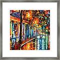 Night Cafe Framed Print