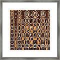 Oak Stump Abstract Framed Print