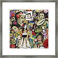 Of Babes And Butterflies Framed Print