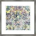 20-offspring While I Was On The Path To Perfection 20 Framed Print