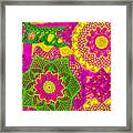 Oh Dont Forget This Joy - Pink Edition Framed Print