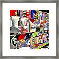 Oil Can Collection Framed Print