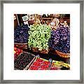 Old Fruit Store Framed Print