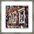 Old House In Moscow Framed Print