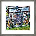 Old Muscle Car Framed Print