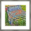 001 - Old Trucks Framed Print