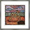 On Guard Framed Print by Melissa Cole