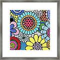 One Yellow Bloom Framed Print