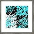 Opposites Attract Framed Print