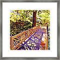 Ornamental Bridge Framed Print
