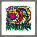 Our Own Colorful World IIi Framed Print