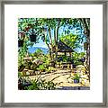 Outside Chiang Dao Coffee Shop  Framed Print