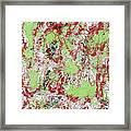 Overactive Christmas Celebration - V1db100 Framed Print