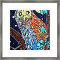 Owl Light Framed Print