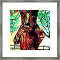 Oz Grumpy Apple Tree Framed Print by Jo-Ann Hayden