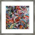 Paint Number 42-a Framed Print by James W Johnson