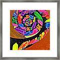 Pangea Spiral Framed Print