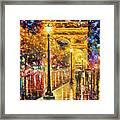 Paris - Campos Elises Framed Print