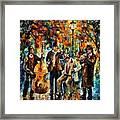 Park Band  Framed Print