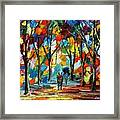 Park Of Freedom Framed Print