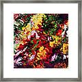 Parterre De Fleurs Framed Print