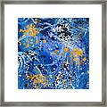 Passage A Travers La Galaxie 1 Framed Print